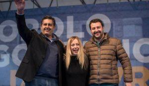 Giorgia Meloni propone Matteo Salvini presidente del Senato