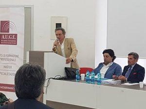 """Prof.Nicola Lombardi,Giudice di Pace di Mercato San Severino:""""Orgoglioso di far parte del team relatori di questo importante corso di formazione con AUGE"""""""