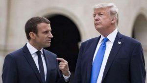 Trump, Macron e la Merkel: l'accordo con l'Iran e l'Europa