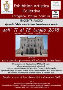 Villa Corsini Sarsina(Anzio)accoglie un importante incontro di Poesia ed Arte