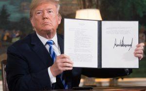 Accordo o Guerra?Per Trump non c'è dubbio:straccia l'accordo ed è guerra per L'Iran
