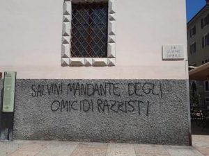 Trento: è razzismo contro Salvini