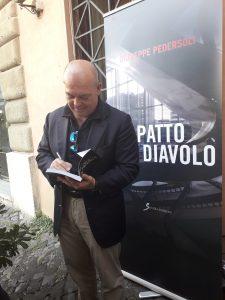 """Roma,l'autore Giuseppe Pedersoli presenta """"Il patto col Diavolo"""""""