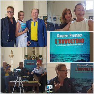 """Spoleto Festival Art to Napoli:Giuseppe Petrarca presenta """"L'avvoltoio""""intervistato dal giornalista Francesco Grillo"""