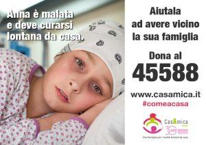 CASAMICA RADDOPPIAL'ACCOGLIENZA Dal 16 al 30 settembre torna la campagna solidale #comeacasa: