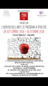 """Lisa Bernardini e la sua Ass. """"Occhio dell'arte""""in trasferta a Spoleto"""