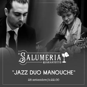 """Un venerdì sera """"jazz manouche"""" in Ex Salumeria 48!"""