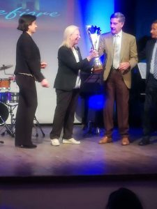 Marco Tullio Barboni ha ritirato il suo riconoscimento al Premio letterario Internazionale Montefiore.