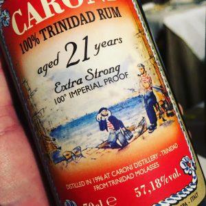 Rum Caroni, il fascino di una storia incredibile