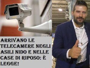 """On. Paolo Tiramani :""""Obbligatoria installazione delle telecamere negli asili e case di cura"""""""
