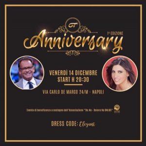 """""""GT ANNIVERSARY"""" Gran Galà di beneficenza a sostegno dell'Associazione onlus DO.NO.SANTOBONO-PAUSILIPON di Napoli"""
