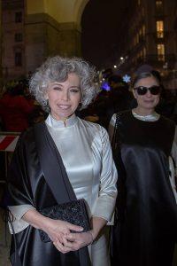 """L'eleganza di Irene Pivetti illumina """"La Scala"""" con il valore del made in Italy"""