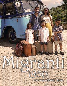 """Villa Domi,giovedì 31 gennaio la proiezione dell'Evento Cinema ispirato a """"Migranti 1950"""""""