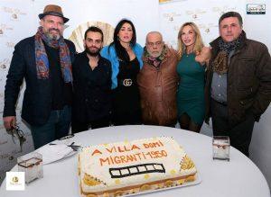 """Debutta a Villa Domi il docu-film """"Migranti 1950"""": attore protagonista Lorenzo Crea,regia di Enzo Acri"""
