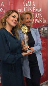 XI EDIZIONE DEL GALA DEL CINEMA E DELLA FICTION IN CAMPANIA:CLAUDIA GERINI, PREMIO ATTRICE DELL'ANNO