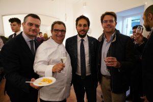 """Napoli, Massimiliano Rosati e Michele Sergio inaugurano il ristorante """"Garò"""" con lo Chef Paolo GRamaglia,eccellenza della ristorazione nazionale"""