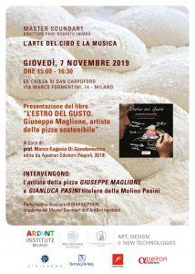 """""""L'arte del cibo e della musica"""" evento organizzato il 7 novembre a Milano da l'ARD&NT Institute e l'Associazione ETHICANDO"""