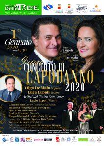 Gran Concerto di Capodanno V Edizione Teatro delle Palme Napoli 1 gennaio 2020