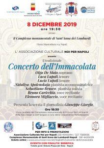 Concerto dell'Immacolata a Napoli Sant'Anna dei Lombardi Napoli 8 dicembre 2019