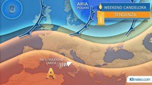 Meteo, Candeloria: tempo incerto con aumento di temperature