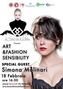 """Milano Fashion Week: Per """"Le salon de la mode"""" guest star Simona Molinari"""