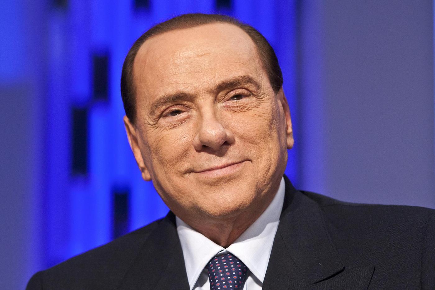 """Silvio Berlusconi ospite a """"Otto e Mezzo"""""""