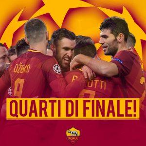 Roma-Shakhtar Donetsk 1-0: gol di Dzeko, giallorossi ai quarti di finale di Champions