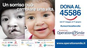 Fondazione Operation Smile Italia Onlus: Sms che valgono sorrisi
