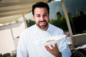 Lo chef Massimiliano Mascia, del San Domenico di Imola, Ristorante due Stelle Michelin, porta al Forte Village l'eccellenza della cucina romagnola