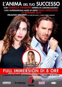 """""""L'anima del tuo successo"""" con Gabriella Chiarappa e il mua Pablo Ardizzone: un seminario per vivere nel segno della positività"""