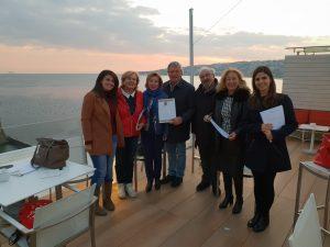 """Napoli, al Grand Hotel Vesuvio l'editore Graus e gli insegnanti pianificano la quarta edizione del progetto per le scuole """"Viaggio Lib(e)ro"""""""