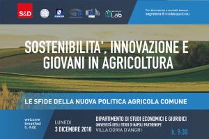 SOSTENIBILITA', INNOVAZIONE, GIOVANI IN AGRICOLTURA | SUMMIT A NAPOLI CON COMMISSARIO UE HOGAN, EURODEPUTATO CAPUTO E PRESIDENTE DE LUCA