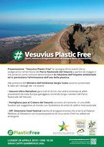 """""""Vesuvius Plastic Free""""  Sport, Musica, Enogastronomia all'insegna della sostenibilità"""