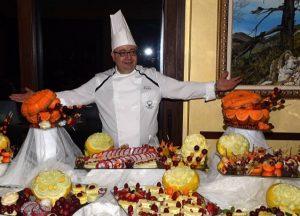 Il Maestro Chef della Frutta Andrea Lopopolo  ospite al programma rivelazione di TeleMilano, Milano Fashion Lovers