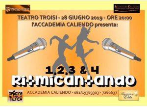 """Il Teatro Troisi di Napoli accoglie la nuova edizione dell'evento """"Ritmicantando"""":il ricavato devoluto interamente all'Associazione Edela"""