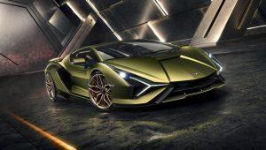 Nuova Lamborghini Sian
