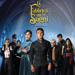 """SAL DA VINCI  a teatro con la """"LA FABBRICA DEI SOGNI""""  ,il nuovo musical in grande stile americano  con FATIMA TROTTA"""