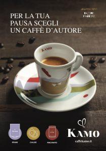 Per la tua pausa caffè scegli un caffè d'autore: nuova campagna di 'Caffè Kamo'