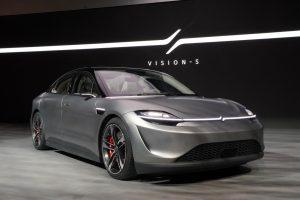 Vision-S la prima auto targata Sony