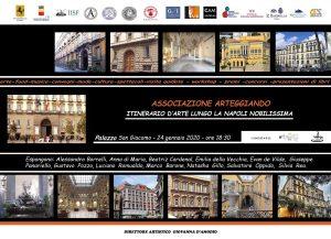 """l'Associazione Arteggiando promuove il progetto """"Itinerario d'arte lungo la Napoli Nobilissima"""""""