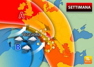 Meteo weekend: peggioramento in arrivo?