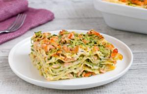 Lasagne zucchine e salmone: Ingredienti e Preparazione