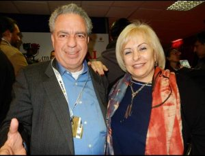 Intervista al  grande Maestro Vince Tempera e l'artista Maristella Gallotti