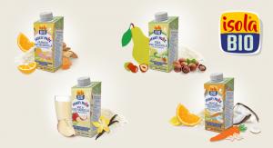 Isola Bio presenta la sua nuova bevanda Fruity Mix.