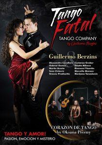 """al teatro Augusteo di Napoli, mercoledì 19 febbraio va in scena lo spettacolo """"Tango Fatal – Tango y Amor!"""""""