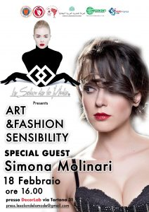 "Milano Fashion Week: Per ""Le salon de la mode"" guest star Simona Molinari"