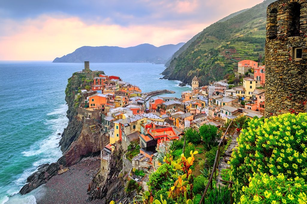 In Liguria il ''Parco Nazionale Cinque Terre'' potrà essere visitato anche in via web