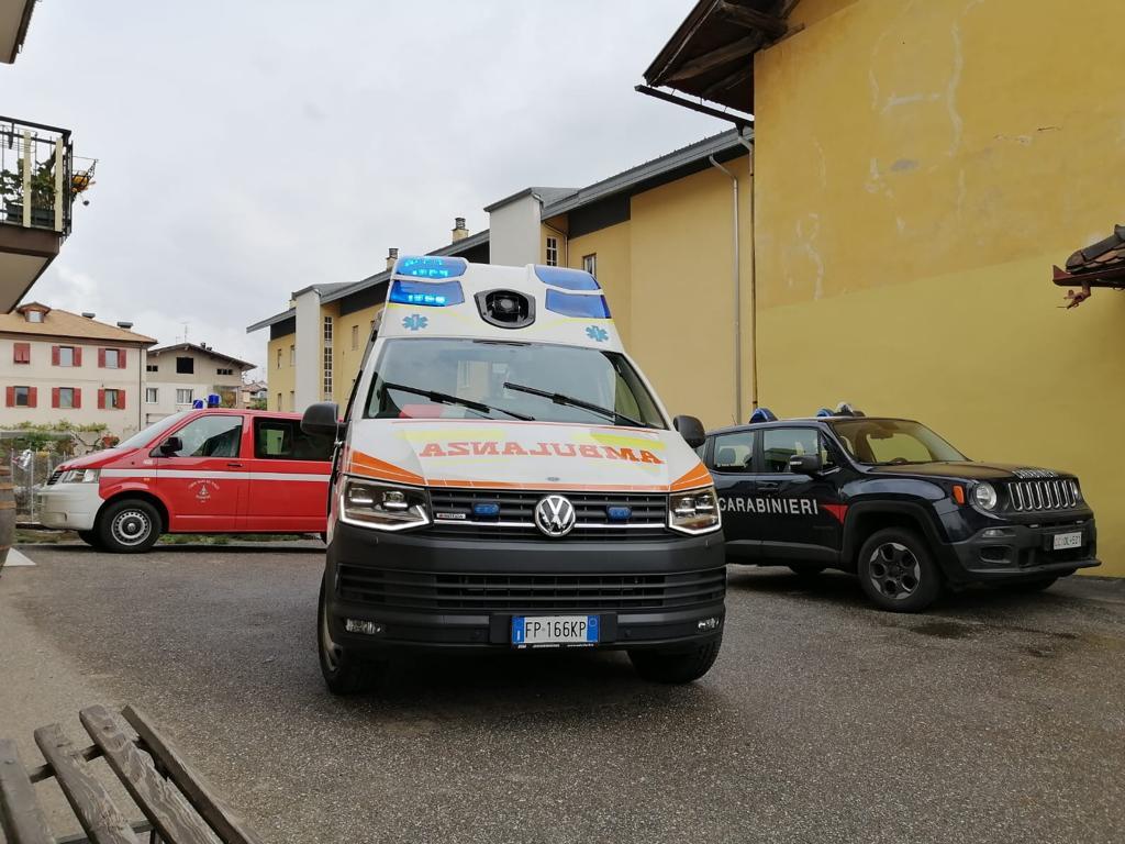 Verona: un bambino è caduto dal seconda piano.. è grave