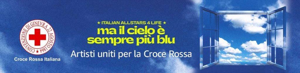 Più di 50 artisti uniti per la 'Croce Rossa Italia'