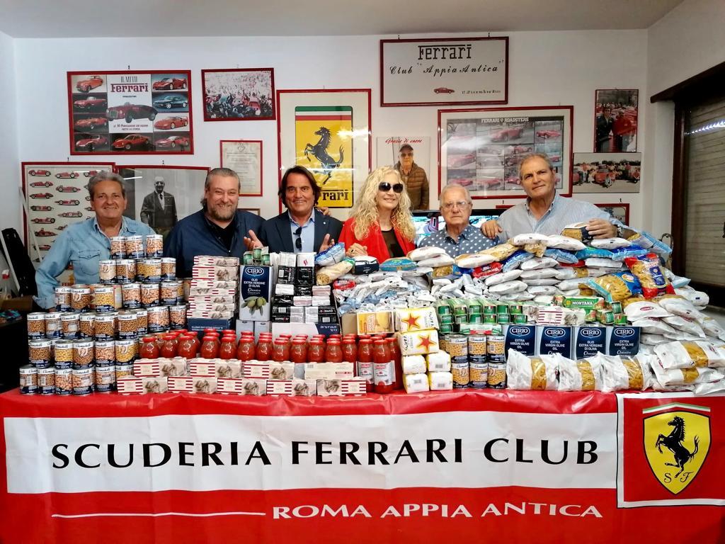 Scuderia Ferrari Club: il Presidente organizza un evento di beneficenza